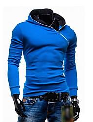 GRG Men's Casual Solid Color Hoodie Sweater