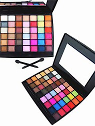 48 Color Matte&Shimmer Professional Eye Shadow Makeup Cosmetic Palette with Mirror&Applicator Set 1#