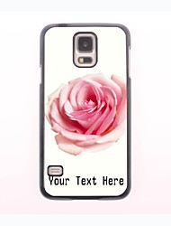 Personalized Phone Case - Rose Blooming Design Metal Case for Samsung Galaxy S5 mini