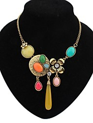 Leo heart  Women'S European Cute Colorful Necklace
