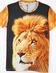 moda masculina de mirtilo 3d imprimir curto tshirt 2013