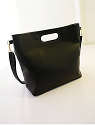 Black Cat Women's All Matching Vintage Solid Color Bag
