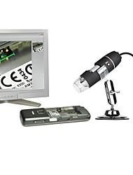 50x à 500x microscope numérique USB endoscopes loupe avec 8 LED lumière éducation inspection biologique industrielle