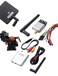 5.8G FPV Video TX RX 200mW+11db Antenna +CCD Camera for DJI