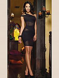 Women's Sexy Backless Mesh Dress