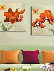 e-FOYER personnalisé impression sur toile 30x30cm 40x40cm 60x60cm pensée encadrée peinture sur toile ensemble de deux