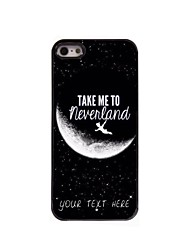 Personalized Phone Case - Take Me to Neverland Design Metal Case for iPhone 5/5S
