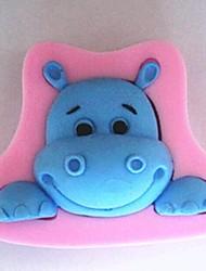 Корова головой животного помадка торт силиконовые формы торт украшение инструменты, l8.5cm * w6cm * h2.2cm