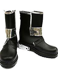 Обувь из искусственной кожи к косплей костюму персонажа Кирито