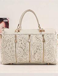 VENCHY Korean Fashion Lace Handbag  10109 Screen Color