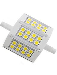 5W R7S LED a pannocchia 24 SMD 5050 300 lm Bianco caldo Decorativo AC 85-265 V