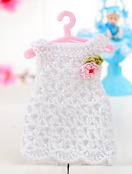 Wedding Decoration Dress Design Baby Favors(Set of 6)