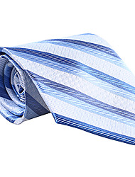 Blue&Light Blue Striped Tie