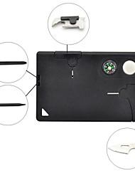 10-in-1 Credit Card Wallet Self Defense Knife Multi-function Tools