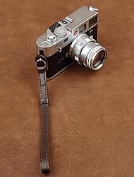 cam-in cam2098 genuino cinturino da polso in pelle per la macchina fotografica