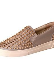 pattini delle donne di conforto tacco piatto moda nylon delle scarpe da tennis