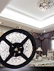 JZG™ 5M 300x5050 SMD White Light LED Strip Lamp (DC 12V)