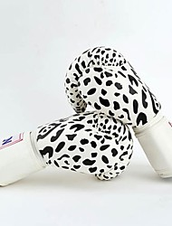Snow Leopard Leather Full Finger Wearable Boxing Gloves (Average Size)