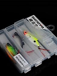 plastic levensechte visgerei haak hulpmiddel lepel lokken 5g box set