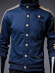 Men's Long Sleeve Jacket , Cotton Casual/Sport Pure