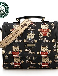 DAKA BEAR® Womens Messenger Bag Leather Handbag Shoulder bag lady CrossBody Bag Satchel Purse Tote