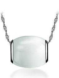 q-mooie mode zilveren hanger
