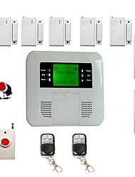 kit de marcado automático de doble protección del sistema de alarma de seguridad inalámbrica celular