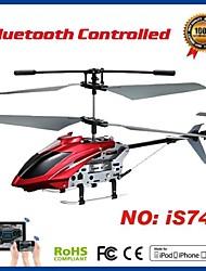 i-contrôle hélicoptère 3.5ch rc avec le compas gyroscopique pour iPhone, iPad et Android