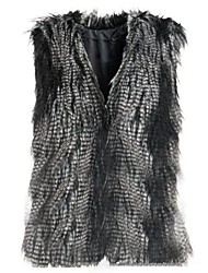 Women Faux Fur/Special Fur Type Outerwear