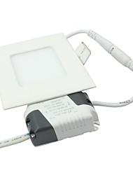 3w 15 * smd2835 165lm blanc chaud / froid conduit de lumière de panneau carré de forme blanche (AC85-265V)