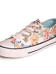 pattini delle donne di conforto tacco basso scarpe da ginnastica di moda tela scarpe più colori disponibili