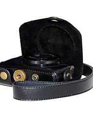 dengpin® ретро искусственная кожа личи камеры зерна случай с плечевым ремнем для Canon Powershot g7 х G7X