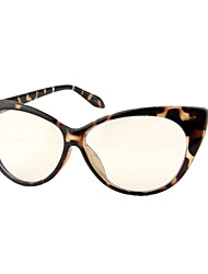 [lentes livres] misturou materiais cat-eye full-jante óculos de grau retro