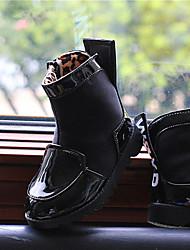 sapatos de conforto botas de moda das meninas botas flat tornozelo calcanhar com zíper mais cores disponíveis