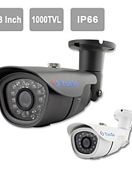 "YanSe® 1/3""CMOS IR Camera 24-LED Waterproof CCTV Vision Security Outdoor Cameras 713CF"
