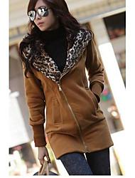O  M  G  Women's European Fashion Casual Long Sleeve Coat