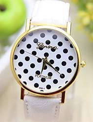 Gen causual Mode Tupfenmuster Uhren