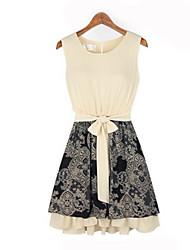 Mufans Women's Sleeveless Dress 1433#