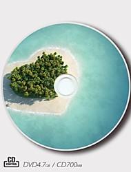regalo mágico paisaje patrón personalizado CD-R / DVD-R (juego de 5)