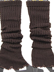 Women's Winter Knitting Cotton Middle Tube Foot Set Leg warmers