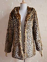 · c · un e&nouveau manteau veste léopard mince européen des femmes f
