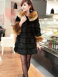 loisirs manteau d'hiver wse Europe et aux États-Unis des femmes irrégulière chaud