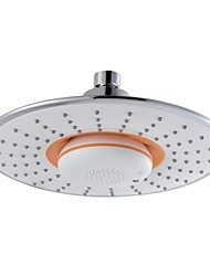 Bluetooth Musical Round Shower Head