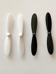 hubsan x4 h107l h107c h107d lâmina preta e branca pequena quatro eixos geral