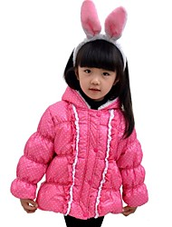 GIRLS' autumn winter cotton-padded clothes