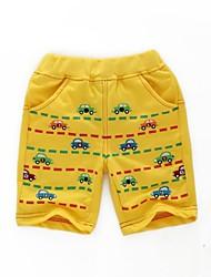 Jungen Hose / Shorts - Baumwolle Druck Sommer