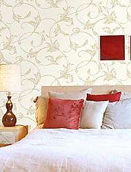 mur papier mural, européennes fleurs de style très moussant de vigne non-tissé papier peint