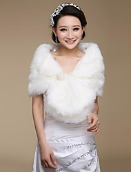 Wedding  Wraps / Fur Wraps Shrugs Faux Fur Wedding / Party/Evening