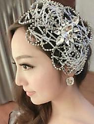 Gorgeous Alloy with Rhinestone Bridal Tiara Headpieces