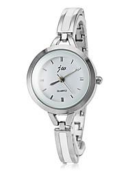 Women's Quartz Silver Alloy Band Analog Wrist Watch Cool Watches Unique Watches Fashion Watch Strap Watch